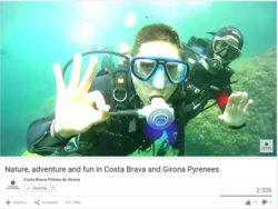 Nuevo video de difusión de la oferta de turismo activo y de naturaleza de la demarcación de Girona