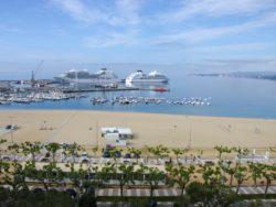 Les ports de Palamós et Roses clôturent une saison de croisières excellente, avec 46 escales et plus de 45 000 passagers