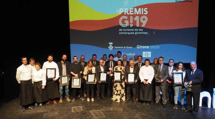 Lliurament dels Premis G! 2019 a l'Auditòri de Banyoles. Pere Duran/Nord Media
