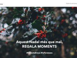 S'impulsa la campanya turística de Nadal «Regala moments a la Costa Brava i el Pirineu de Girona»